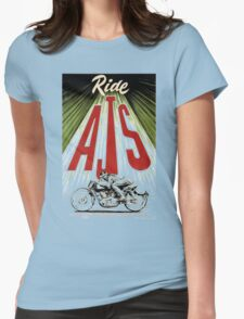 ride AJS Womens Fitted T-Shirt