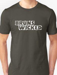BrunsWicked (white) Unisex T-Shirt