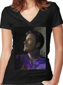 Entropy. And. Surprise! Women's Fitted V-Neck T-Shirt