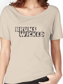 BrunsWicked (black) Women's Relaxed Fit T-Shirt