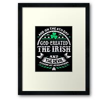 The Irish Framed Print