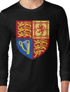 Arms of the United Kingdom Long Sleeve T-Shirt