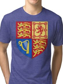 Arms of the United Kingdom Tri-blend T-Shirt