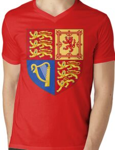 Arms of the United Kingdom Mens V-Neck T-Shirt