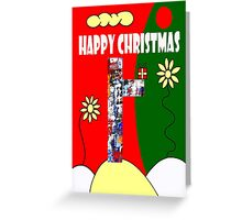 HAPPY CHRISTMAS 13 Greeting Card