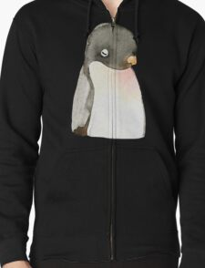 Mr. penguin Zipped Hoodie