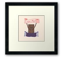 For the Love of Chocolate Framed Print