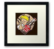 Grog Cola v2 Framed Print