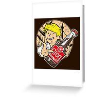 Grog Cola v2 Greeting Card