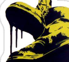 NVA boots on the line Sticker