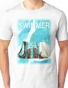 The Swimmer  Unisex T-Shirt
