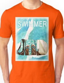 The Swimmer  Unisex T-Shirt
