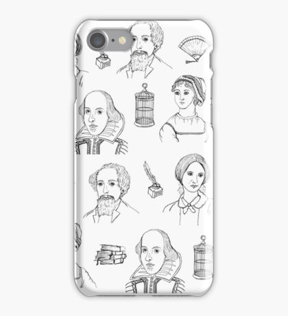Famous Authors iPhone Case/Skin
