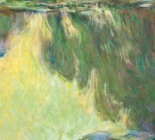 1907-Claude Monet-Waterlilies-73x92 Sticker