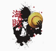 One Piece - Luffy (Pirate Kanji) One Piece - Short Sleeve