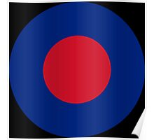 RAF LowVis Roundel / British Army Insignia Poster
