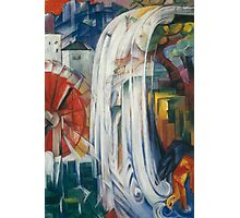 Franz Marc - The Bewitched Mill 1913  Landscape  Photographic Print