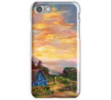 country morning  iPhone Case/Skin
