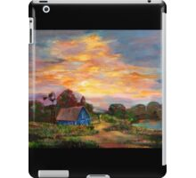 country morning  iPad Case/Skin