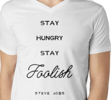 Steve Jobs Mens V-Neck T-Shirt