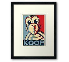Vote Koopa (Clothing) Framed Print