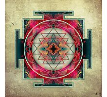 Sri Yantra  Photographic Print