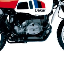 bmw R80 g/s paris-dakar edition Sticker
