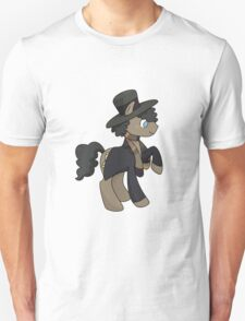 4th Doctor Whooves Unisex T-Shirt