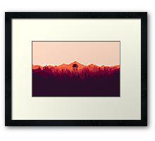 Firewatch Artwork Framed Print