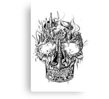 """""""All skull"""" Canvas Print"""