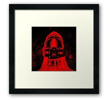 Toxic environment RED Framed Print
