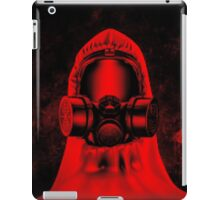 Toxic environment RED iPad Case/Skin