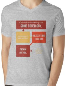 tweets by @dril - Some Other Guy Mens V-Neck T-Shirt