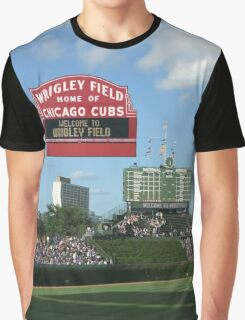 Cubs Baseball Graphic T-Shirt