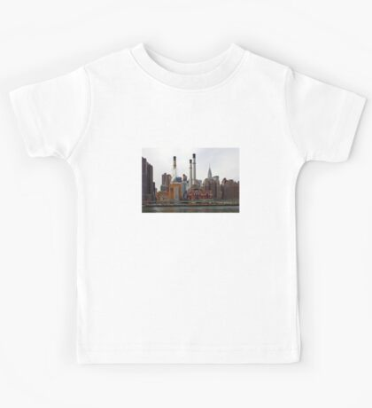 NYC - Manhattan from East River Kids Tee