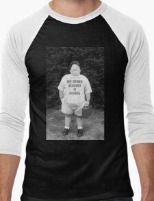 My Other Account Is Global | CSGO Men's Baseball ¾ T-Shirt