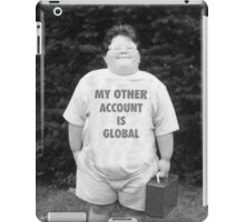 My Other Account Is Global | CSGO iPad Case/Skin