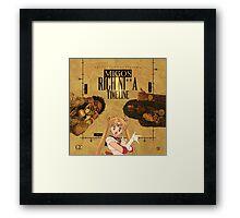 sailor migos Framed Print