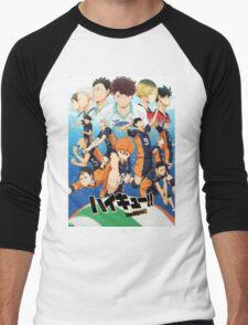 Haikyuu!! - Friends or Foes Men's Baseball ¾ T-Shirt
