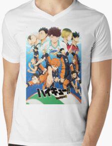 Haikyuu!! - Friends or Foes Mens V-Neck T-Shirt