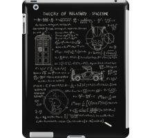 Theory of relativity : spacetime iPad Case/Skin