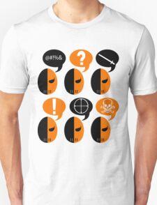 Deathstroke Moods Unisex T-Shirt