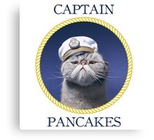 Captain Pancakes Canvas Print
