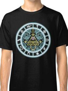 Gravity Falls Bill Cipher Wheel Classic T-Shirt