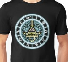 Gravity Falls Bill Cipher Wheel Unisex T-Shirt