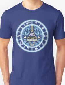Gravity Falls Bill Cipher Wheel Unisex T-Shirt