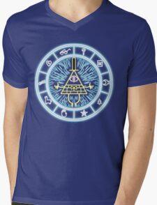 Gravity Falls Bill Cipher Wheel Mens V-Neck T-Shirt
