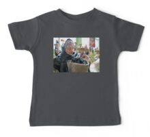 Old Ladies and Guitar Players Baby Tee