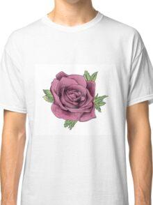 Watercolour Rose Classic T-Shirt