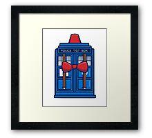 Smith TARDIS Framed Print